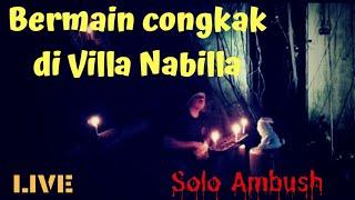 'LIVE' Bermain Congkak di Villa Nabilla