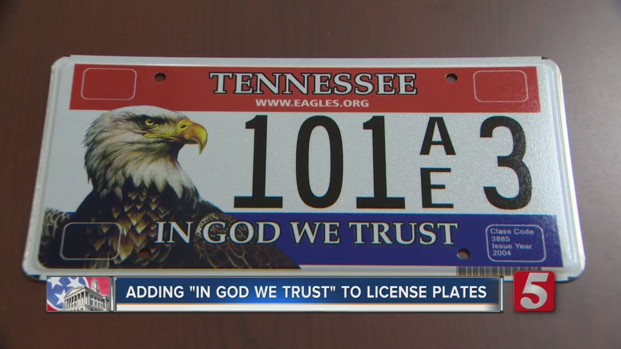 Lawmaker Proposes Adding \'In God We Trust\