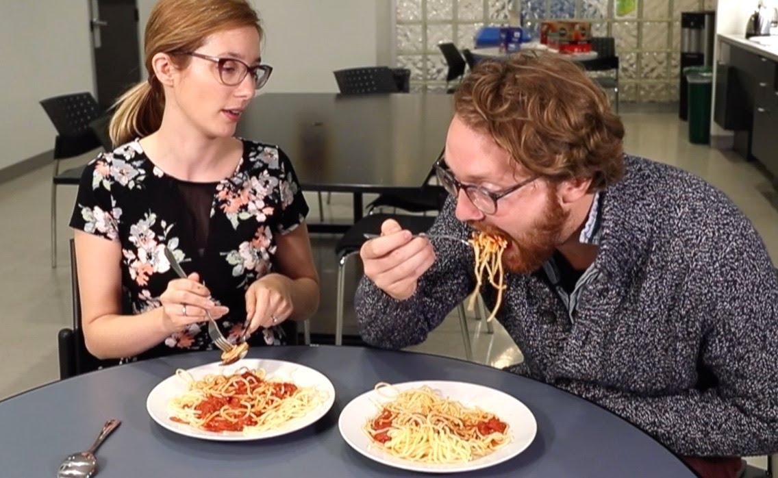 How to eat spaghetti