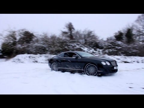 Bentley Continental Gt Speed Snow Marlow Cars Youtube