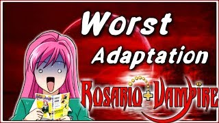 I read the Rosario + Vampire Manga... (Now I HATE the Anime even more)
