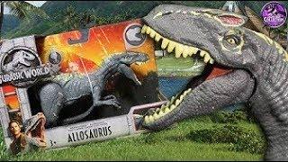 #Allosaurus vs #Dilophosaurus Обзор.Мир Юрского периода 2 (2018) Про динозавров