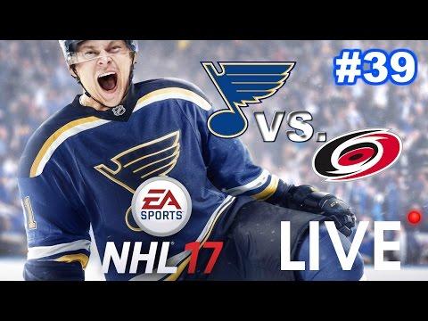 NHL 17 LIVE - St. Louis Blues Franchise #39 - Lets go Blues