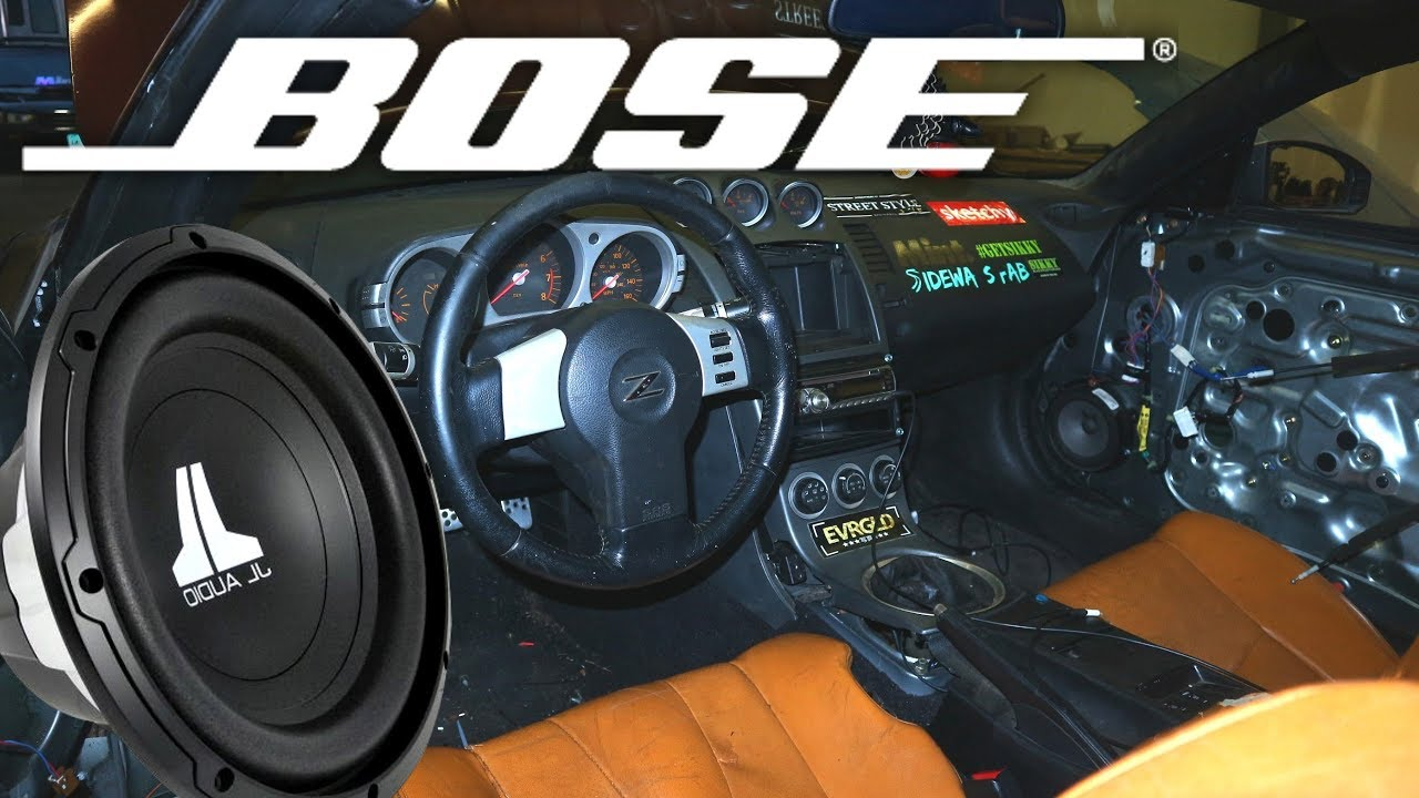Bose Speakers For Cars >> Bose Sound System In My Drift Car Boombuxx