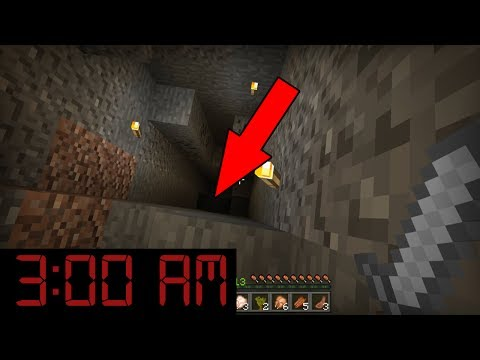 Do NOT Explore Caves in Minecraft at 3:00 AM