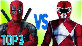 - ТОП 3 РЭП БИТВ СУПЕР ГЕРОЕВ РЕЙНДЖЕРЫ VS ДЭДПУЛ Top Superhero rap Power Rangers VS Deadpool 2