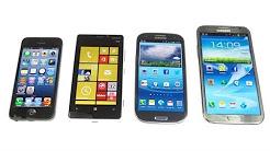 Nokia Lumia 920 vs. Apple iPhone 5 vs Samsung Galaxy S3 & Note 2: Benchmark    SwagTab