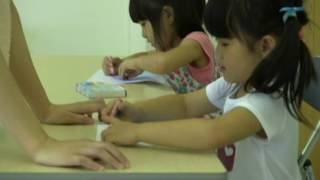 岐阜のシャルテ音楽教室のリトミックレッスンです。 ピアノ教室、サック...