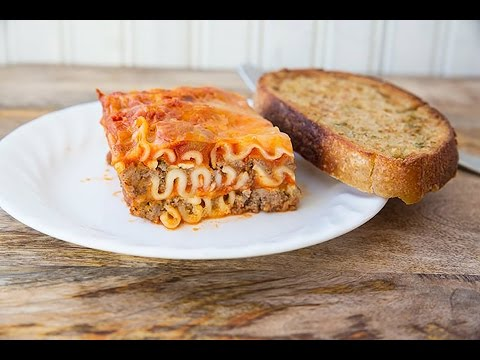 Mom's Easy Cottage Cheese Lasagna