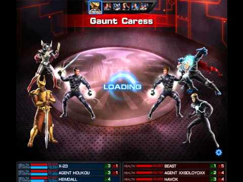 Marvel Avengers Alliance PVP - X-23 & Heimdall (test ... X 23 Marvel Avengers Alliance