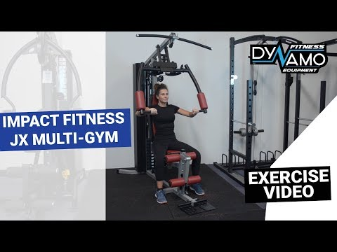 Home Gym JX Exercise Demo - Dynamo Fitness Equipment