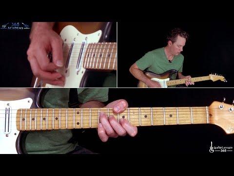Highway Tune Guitar Lesson - Greta Van Fleet