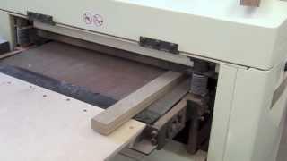 Making a magnetic knife holder (Изготовление магнитного держателя ножей)(http://mtmwood.com/ http://mtmwood.com/knifeholder.php Free tutorial