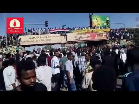 06 April evening demos and sit-in in Khartoum