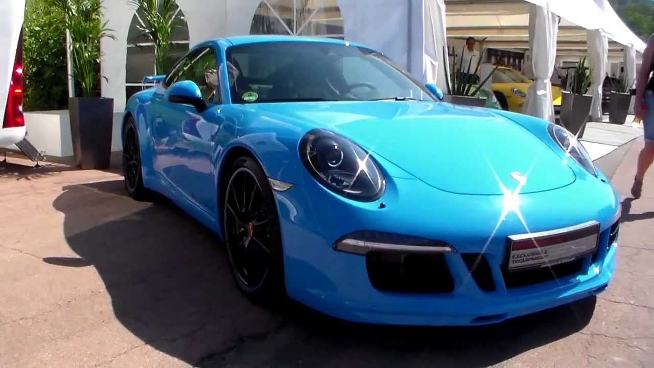 Baby Blue Porsche 911 Carrera S Hd Youtube
