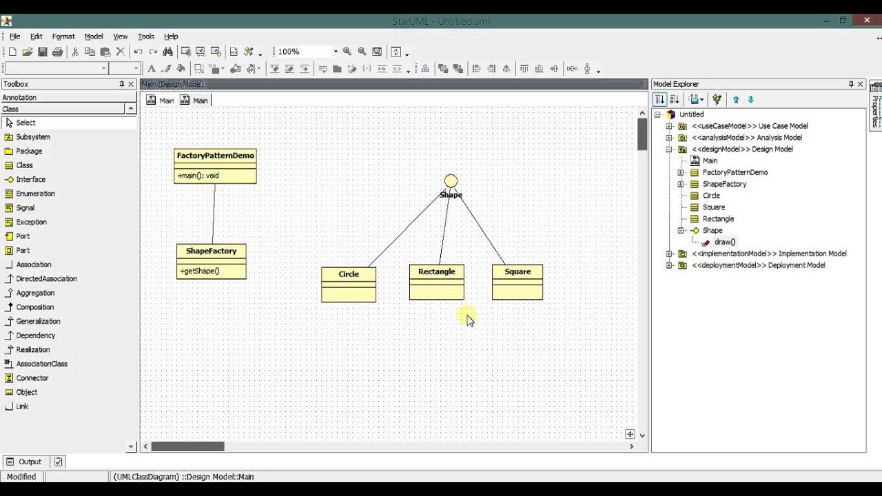 How to generate source code of interface and class in star uml youtube how to generate source code of interface and class in star uml ccuart Gallery