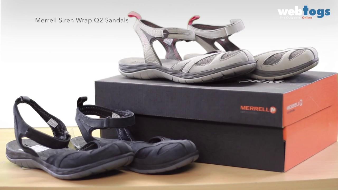 b0aeedd5f352 Merrell Siren Wrap Q2 Sandals - Lightweight footwear
