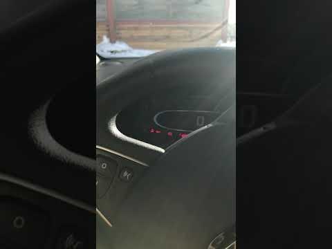 Renault Clio 2018 1.5dci COLD START -15 °C  5 °F