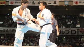 The 46th ALL JAPAN KARATE TOURNAMENT Men 2nd round Yuji Shimamoto v...