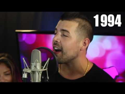 Guy sings every hit song from the 90's & 2000's over one beat!