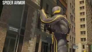 ALL Suits Free Roam Gameplay - The Amazing Spider Man 2