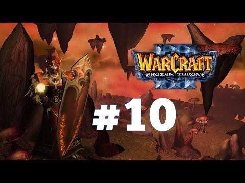 Warcraft 3 Ледяной Трон - Часть 10 - Проклятие Мстителей - Прохождение кампании Альянс