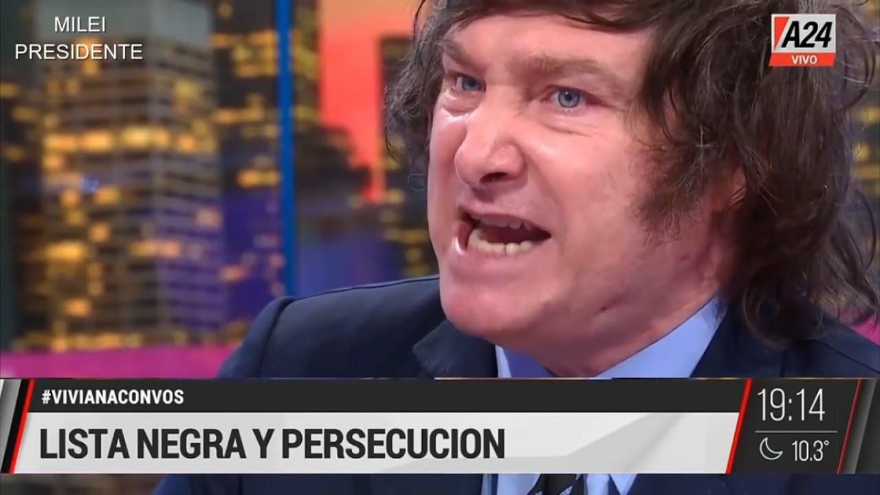 """""""Me pusieron en una lista negra"""" Javier Milei mano a mano con Viviana Canosa- 15/06/21"""