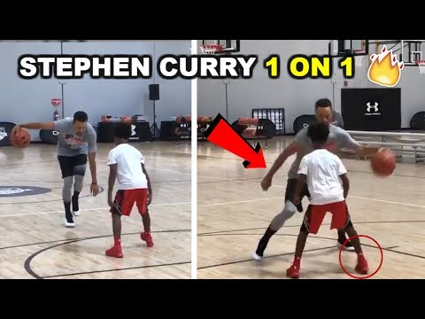 Thumbnail: Stephen Curry BREAKS ANKLES VS Regular People 1 on 1 Part 2 August 2017