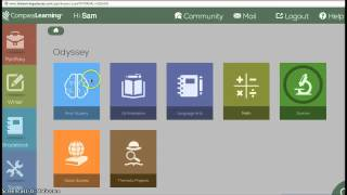 Compass Learning Screencast