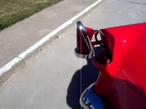 1955 Chevrolet Custom Tailight Gas Filler Door Youtube