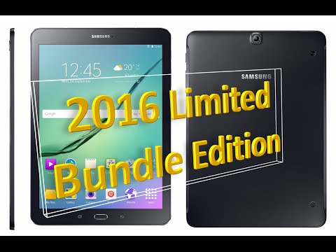 Samsung Galaxy Tab S2 2016 Edition (SM-T813) Review | Limited Bundle
