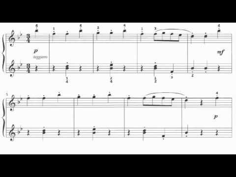 LCM Piano 2013-2017 Grade 2 List B1 Maykapar The Music Box Op.28 No.13 Sheet Music