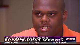 Teen accepted to 20 different universities, including four Ivy league schools