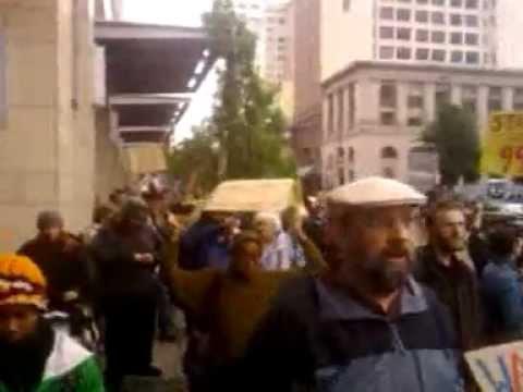 Occupy Tacoma protesting nonunion IGA market October 7, 2011 3:42 PM