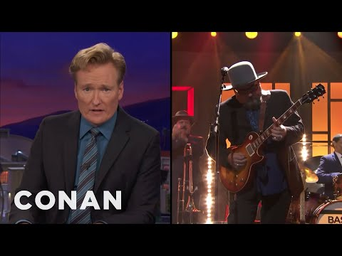 Conan O'Brien Pays Tribute to Longtime House Band on Final Hour-Long 'Conan'