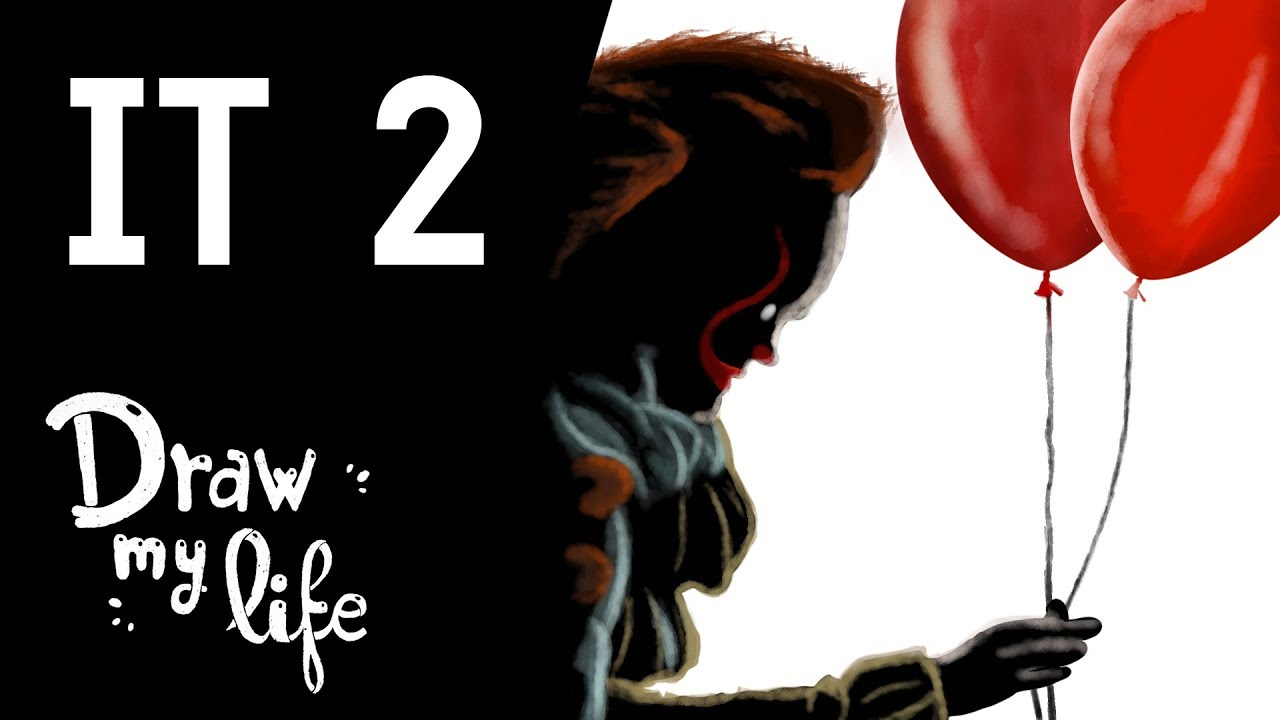 La HISTORIA de 'IT 2' #ITCapítulo2 #IT2 | Película de Terror | Draw My Life