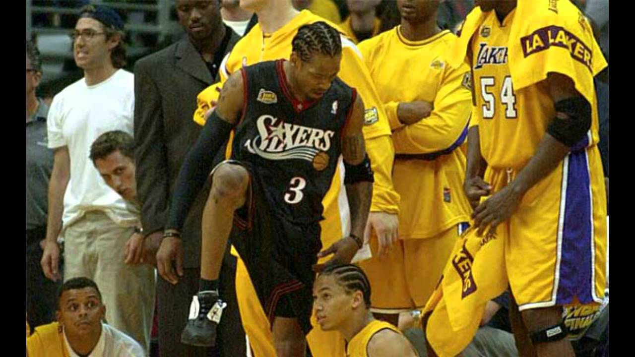 Tyronn Lue Interview  Allen Iverson steps over Tyronn Lue in the 2001 NBA  Finals - YouTube c9eca0f81
