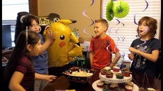 Rowan's 12th birthday party!