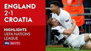 Kane winner sends England to Finals! | England 2-1 Croatia | Highlights | UEFA Nations League