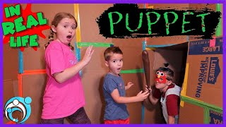 Escape Roblox Puppet Game In Real Life! Thumbs Up Family