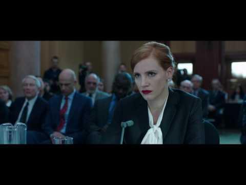 Miss Sloane - Giochi di potere - Trailer italiano Ufficiale