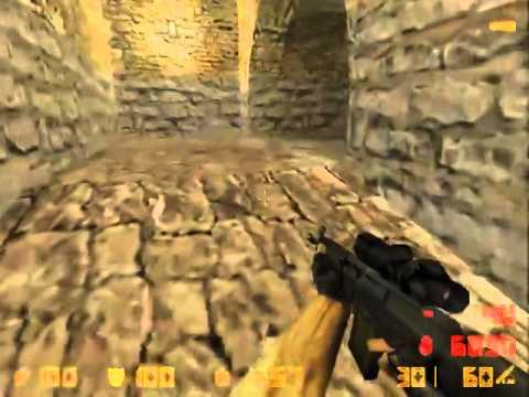 Counter Strike Beta 71 2000 Gameplay With Bots