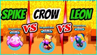 Spike vs Crow vs Leon in Big Game | Big Game Brawler Battle