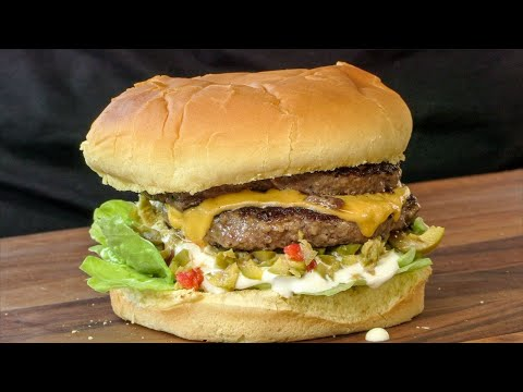 Mr. Fables Olive Burger With Cheese | Ballistic BBQ | Copycat Recipe