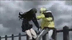 Mahiro vs Evangeline