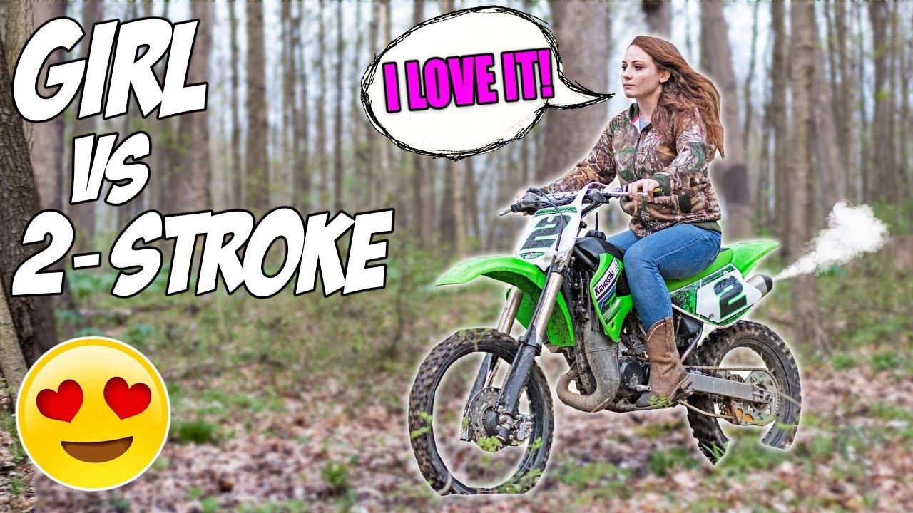 Girlfriend rides
