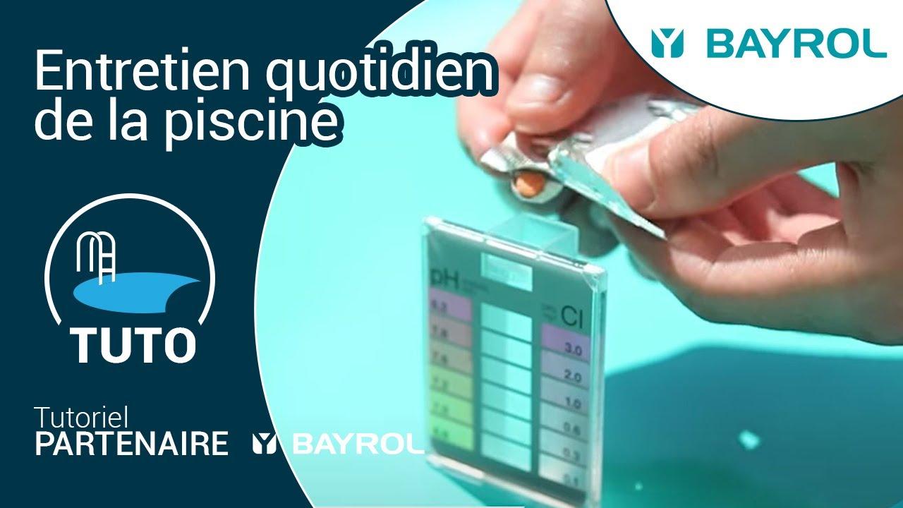 comment entretenir sa piscine au quotidien tuto bayrol. Black Bedroom Furniture Sets. Home Design Ideas