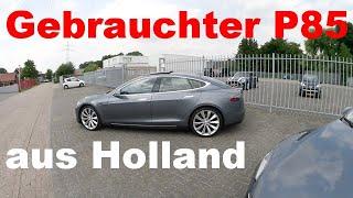 Noch ein gebrauchter Tesla aus Holland mit 87.000 Kilometern
