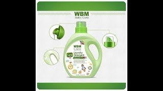 WBM Baby Care Active Baby Laundry Detergent| 3 in 1 Technology | Detergent-Stain remover-Color renew