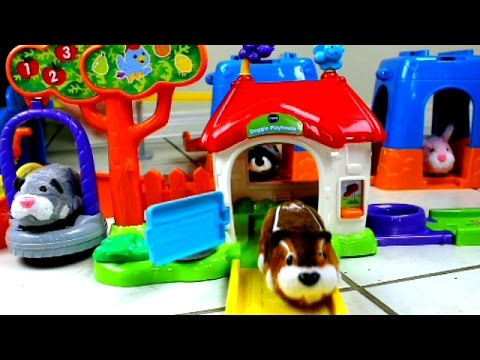 It's Zhu Zhu Ranch! Custom VTech GO! GO! SMART WHEELS Layout for Zhu Zhu Pets
